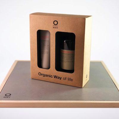 Oway Duo Gift Set Brown